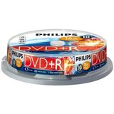 DVD+RW 4.7GB (10 buc. Spindle, 4x) PHILIPS