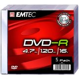 Emtec DVD-R 4.7GB  Jewelcase, 16x, EMTEC