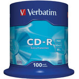 CD-R 700MB 52X 100 buc