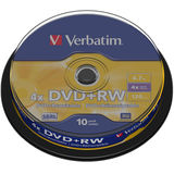 DVD+RW 4.7GB 4x Spindle 10 buc