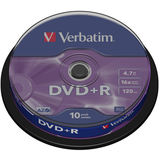 VERBATIM DVD+R 4.7GB 16x Matt Spindle 10 buc.