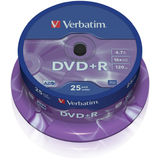 DVD+R 4.7GB 16x Matt Spindle 25 buc.