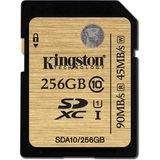 Card de Memorie Kingston SDXC 256GB Clasa 10 UHS-I