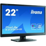 ProLite E2280HS-B1 21.5 inch 5 ms Black