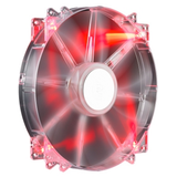 MegaFlow 200 red LED Silent Fan