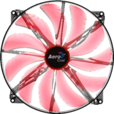 Aerocool Silent Master Red LED 200mm