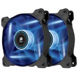 Corsair Air Series SP120 LED Blue High Static Pressure 120mm Fan Twin Pack