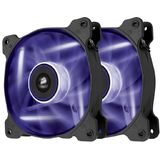 Corsair Air Series SP120 LED Purple High Static Pressure 120mm Fan Twin Pack