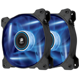 Corsair Air Series AF120 LED Blue Quiet Edition High Airflow 120mm Fan - Twin Pack