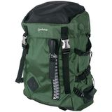 Manhattan Rucsac notebook 15.6 inch Zippack Black/Green
