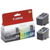 Cartus COMBO PACK PG-40/CL-41 ORIGINAL CANON IP1600