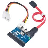 1x IDE Female - 1x SATA Male + 1x Molex Male, bidirectional