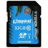 Card de Memorie Kingston SDHC 32GB Clasa 10
