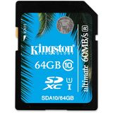 Card de Memorie Kingston SDXC 64GB Clasa 10