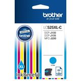 CYAN LC525XLC ORIGINAL BROTHER DCP-J100
