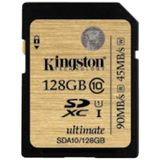 Card de Memorie Kingston SDXC 128GB Clasa 10 UHS-I Ultimate