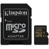 Card de Memorie Kingston Micro SDHC 32GB Clasa 10 UHS-I U1 + Adaptor SD