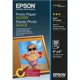 EPSON S042546, PHOTO PAPER GLOSSY 10x15 CM 20 SHEETS, C13S042546
