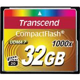 Card de Memorie Transcend Compact Flash 1000x 32GB