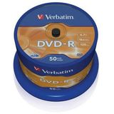 DVD-R 4.7GB 16x Matt Silver spindle 50 buc