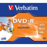 VERBATIM Verbatim DVD-R , slim jewel case 100 , 4,7GB , 16x