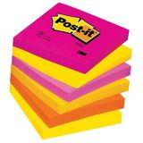 Notite autoadezive Post-it culori pastel, 76x76mm, 100 file/bucata - Pret/set