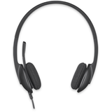 Casti LOGITECH Over-Head USB Headset H340