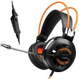 Casti Somic G925 Black/Orange