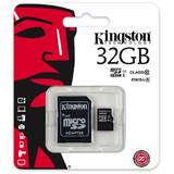 Card de Memorie Kingston Micro SDHC 32GB Clasa 10, UHS-I, ver G2 + Adaptor SD