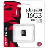 Card de Memorie Kingston Micro SDHC 16GB Clasa 10, UHS-I ver G2