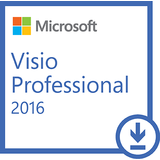 Microsoft Licenta Electronica Visio Professional 2016, All languages, FPP