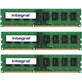 ECC UDIMM DDR3 12GB 1333MHz CL9 1.5v Dual Rank 3x 4GB Kit