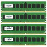 ECC UDIMM DDR4 32GB Kit 4x8GB 2133MHz CL15 Dual Rank x8