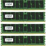 ECC RDIMM DDR4 64GB 2400MHz CL17 1.2v Dual Rank x4 Quad Channel Kit