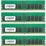 ECC RDIMM DDR4 64GB 2400MHz CL17 1.2v Single Rank x4 Quad Channel Kit