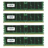 ECC LRDIMM DDR4 128GB 2400MHz CL17 1.2v Quad Rank x4 Quad Channel Kit