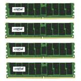 ECC RDIMM DDR4 128GB Kit 4x32GB 2400Mhz CL17 Dual Rank x4