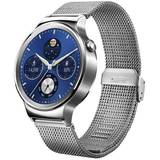 Smartwatch SmartWatch Huawei  Watch W1 Steel Silver, 42 mm, Mesh
