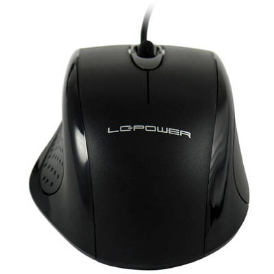 Mouse LC-Power USB M710B Black