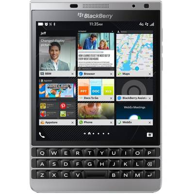 Smartphone BLACKBERRY Passport 4G LTE 32GB Silver Edition Dallas