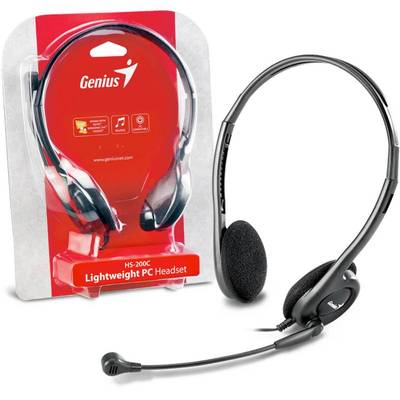 Casti GENIUS Over-Head HS-200C 1x Jack Black