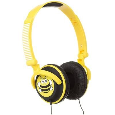 Casti Trendz Over-Head Doodle Children's Character Bee Yellow
