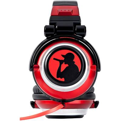 Casti Energy Sistem Over-Ear DJ700 Black-Red