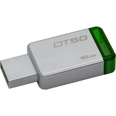 Memorie USB Kingston DataTraveler 50 16GB USB 3.0 (Metal/Green)