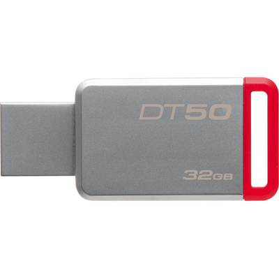 Memorie USB Kingston DataTraveler 50 32GB USB 3.0 (Metal/Red)