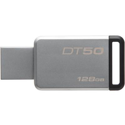 Memorie USB Kingston DataTraveler 50 128GB USB 3.0 (Metal/Black)