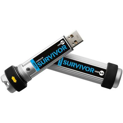 Memorie USB Corsair Survivor 128GB USB 3.0 Black - Silver