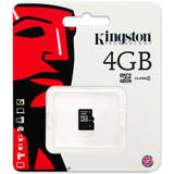 Kingston Micro SDHC 4GB Clasa 4