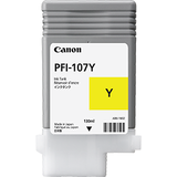 Cartus Cerneala Canon PFI107Y yellow  | 130ml |  iPF68X, 78X