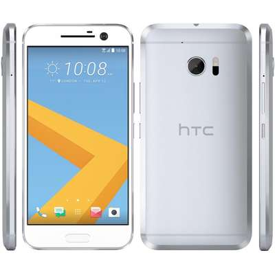Smartphone HTC 10, Quad Core, 32GB, 4GB RAM, Single SIM, 4G, Glacier Silver